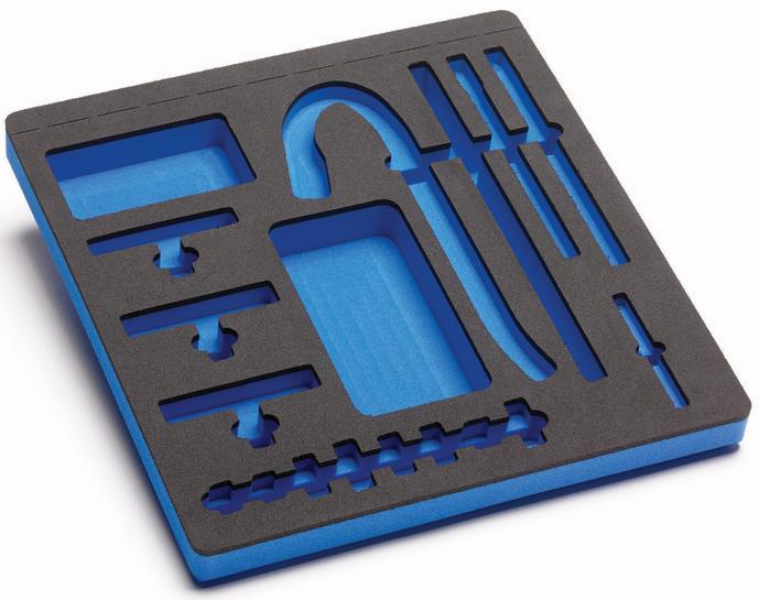 PA107 foam tray
